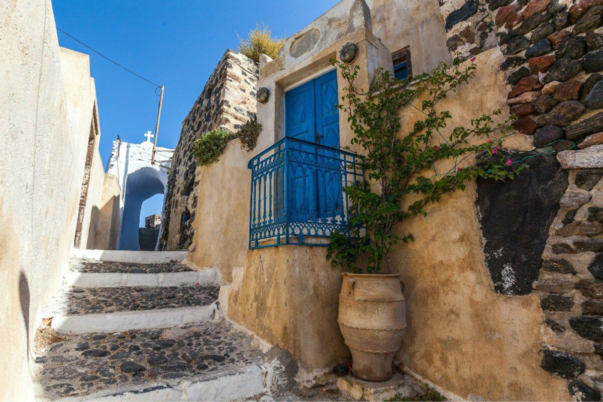 Pyrgos medieval village