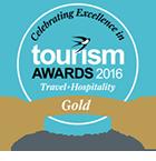 Tourism Awards Gold 2016 - Customer Service